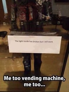 I can totally relate to this vending machine   http://ift.tt/2cuYJP7 via /r/funny http://ift.tt/2cWRKfe  funny pictures