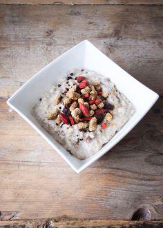 Kokos Havermout Recept met Superfoods // Detoxen in 10 stappen