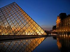 Louvre in Paris, France. Oh The Places You'll Go, Places To Travel, Places To Visit, France Photos, Future Travel, Adventure Is Out There, France Travel, So Little Time, Dream Vacations