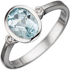 Dreambase Damen-Ring 1 Aquamarin 14 Karat (585) Weißgold 2 Diamant 0.02 ct. 56 (17.8) Dreambase http://www.amazon.de/dp/B00N5BJ4P8/?m=A37R2BYHN7XPNV