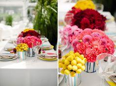 1950's Pop Art Wedding Inspiration | Green Wedding Shoes Wedding Blog | Wedding Trends for Stylish + Creative Brides