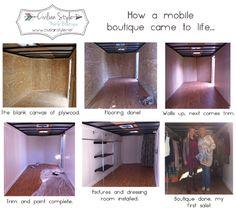 mobile boutique ideas on pinterest fashion boutique mobile boutique and mobile fashion truck. Black Bedroom Furniture Sets. Home Design Ideas