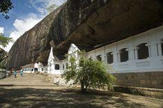 Sri Lanka Tourist Attractions: Dambulla Buddhist Cave Temple, Sri Lanka