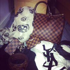Alexander McQueen and Louis Vuitton <3