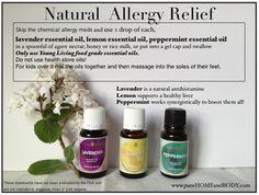 Drug free allergy relief