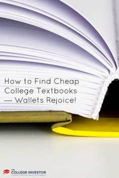 A step-by-step strategy to buy college textbooks at the lowest price, and sell them back at the highest price possible to make a profit. via @collegeinvestor