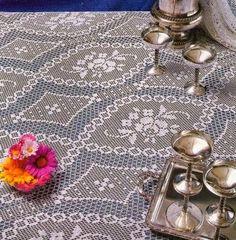 filet lace pattern