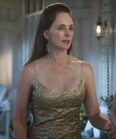 "Victoria's L'Wren Scott Jacquard Slip Dress Revenge Season 3, Episode 5: ""Control"" - Spotted on TV"