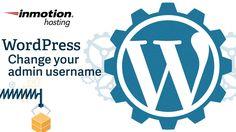 Changing your WordPress admin username