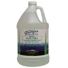 George's Aloe Vera Supplement, 128 Fluid Ounce