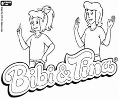 Ausmalbilder Bibi Blocksberg 04 Bibi Und Tina
