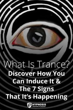 What is trance and how do you induce it? This hypnosis guide explains what trance is, how to induce it & 7 trance signs that show that it's happening. Tarot, Hypnosis Scripts, Learn Hypnosis, Nlp Techniques, Out Of Body, Brain Science, Mind Power, Magic Words, Hypnotherapy