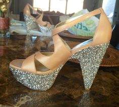 My shoes DIY glitter :)