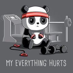 My Everything Hurts Ps Wallpaper, Handy Wallpaper, Cute Panda Wallpaper, Cute Animal Drawings, Kawaii Drawings, Cute Drawings, Happy Panda, Panda Love, Panda Panda