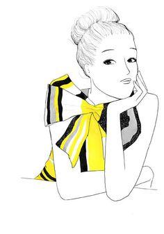 #katespade inspired - by Garance Dore #illustrations
