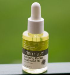Besides being a great fit for acne-prone skin, derma e's Soothing Facial Treatment Oil should work wonders on those of us who suffer from redness and irritation on our skin; argan oil and vitamin E offer healing and hydration while lavender helps calm the skin. www.dermae.com