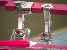 21) BERNINA presser feet -- Open embroidery foot #20/20C - YouTube