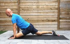 Tight hips are the culprit behind low back pain, knee issues, and more. Learn how to improve hip mobility with these exercises you can do anywhere. Sciatic Nerve Exercises, Hip Stretches, Back Pain Exercises, Sciatica Pain, Hip Exercises For Men, Hip Impingement Exercises, Core Exercises, Stretching Exercises, Hip Pain