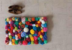 DIY | Crazy Pom Pom Rug by @Pablo Cabeza Lincolne for @Em Frankcom Magazine - Photo by Hilary Walker
