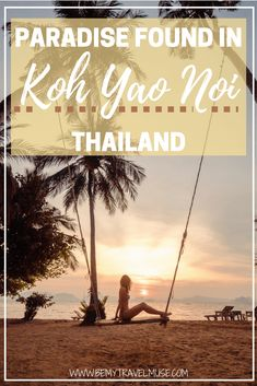 Looking for an island that is quiet, laidback, peaceful and off the beaten path in Thailand? Koh Yao Noi may be the answer. Read my blog post to find out how to get there, where to stay and what to do in this paradise | Be My Travel Muse | Thailand off the beaten path | Thailand island guide | Best islands in Thailand | Best places to stay in Thailand | Koh Yao Noi Paradise resort #kohyaonoi #thailand