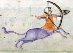 SagittariusLuttrell Psalter, England ca. 1325-1340British Library, Add 42130, fol. 164r