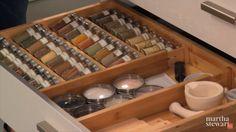 Kitchen Drawer Idea #4: | Martha Stewart Kitchen Organizing Ideas Part 1: Maximize Your Kitchen Space