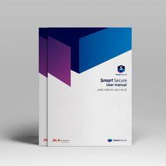 #이프유 #편집디자인 #editorialdesign - 스마트 시큐어 5 사용자 매뉴얼 Editorial Layout, Editorial Design, Box Design, Layout Design, Book Texture, Business Folder, Medical Brochure, Folder Design, Typo Logo