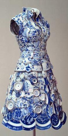 Tea cup dress fashion
