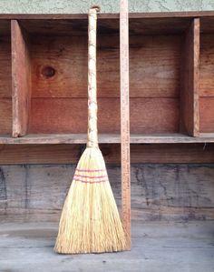 Vintage Broom Handmade Vintage Broom Stick Handle Handmade