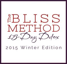 LAST WEEKEND to REGISTER and SAVE!! Early Bird Pricing of just $97.00 for The Bliss Method 15-Day Detox ends TOMORROW at Midnight. Register now and save $50.00 at www.detoxwithabby.com The Bliss Method Detox starts on January 22nd. Your adventure to better digestion, radiant energy and a bod you adore starts right here, right now. Let's do this together! xoxo