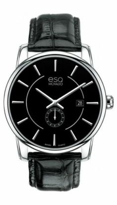 1fbd3e7af9c7 AUTHENTIC ESQ MOVADO MEN S WATCH NEW IN BOX WITH TAGS RETAIL  295 Watches  For Men