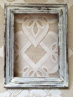 vintage rustic picture frame idea