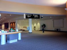 Communicorps: Interior Signage for Church Lobby