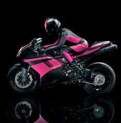 tmobile commercial with hot pink motorcycle - Google Search