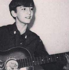 John Lennon a los 13 años