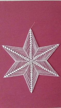 Crochet Doily Rug, Crochet Snowflake Pattern, Crochet Stars, Crochet Snowflakes, Thread Crochet, Filet Crochet, Crochet Flowers, Crochet Patterns, Burlap Christmas