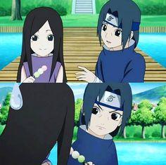Izumi x Itachi. Itachi is just so cute~ Anime Naruto, Naruto Amor, Naruto Sasuke Sakura, Naruto Comic, Naruto Funny, Naruto Shippuden Sasuke, Itachi Uchiha, Manga Anime, Boruto