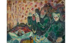 <em>Agonía</em>, 1915 Óleo sobre lienzo.174 x 230 cm Munch-museet, Oslo