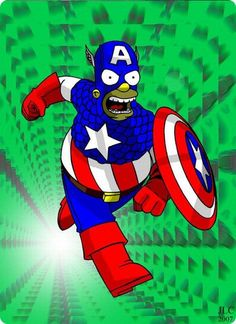 is it just me or did captain America gained weight?????