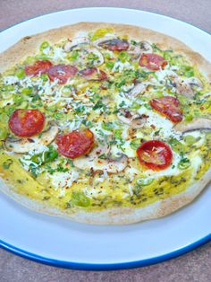 The Saucy Chef: Egg-Citing Breakfast Tortilla!