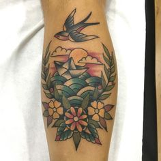 nice 80 Trendy Swallow Tattoo Ideas - What's Making Them So Popular? Check more at http://stylemann.com/best-swallow-tattoo-ideas/