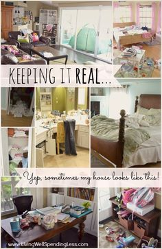 Keeping it Real... {My Dirty Truth} - Living Well Spending Less®