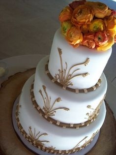 Brown Sugar Wedding Cakes