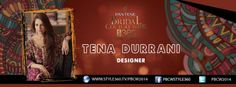 Tena Durrani's collection is designed for a progressive woman whose taste and sense of style is deeply rooted in her traditions. #PBCW2014 For live updates tune in to: http://style360.tv/pbcw2014/live.html