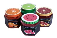 Jam packaging... Loving the lids