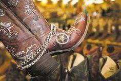 Boot Bracelet Bling