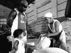Mercado da farinha, Tucano, Bahia.