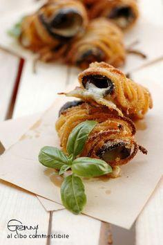 Avete mai pensato di utilizzare la pasta come finger food? Ecco l'idea di Al Cibo commestibile