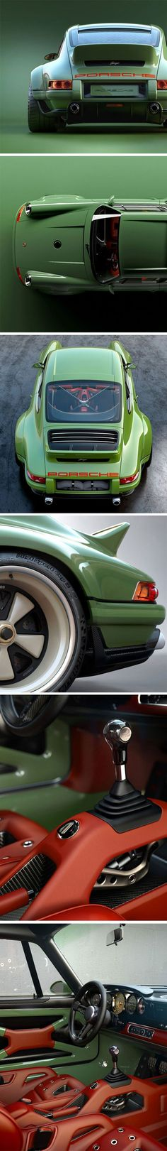 A Custom 1990 Porsche 964, The First In A Limited Edition Series - singer Porsches are so beautiful.