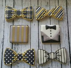 Jennifer Mora:  more bow ties and matching accent cookies